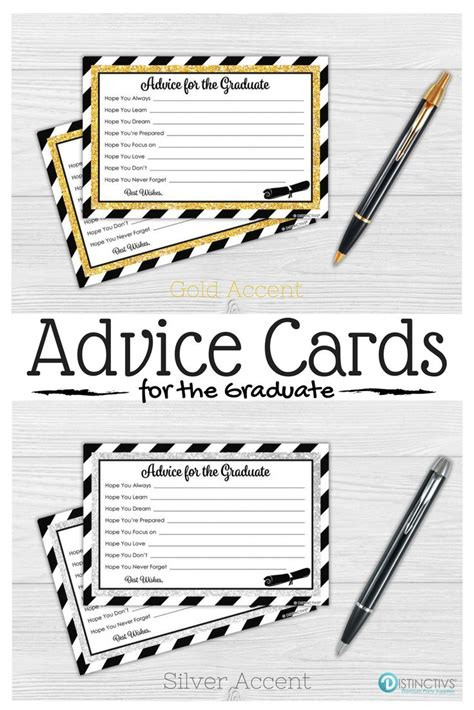 Word Graduation Advice Card Template by 25 Best Ideas About College Graduation Gifts On