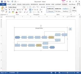 smartdraw templates create flowcharts in word with templates from smartdraw