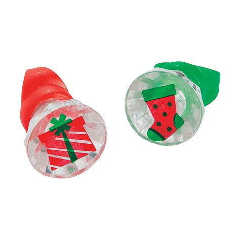 light up christmas rings rings novelty jewelry costumes