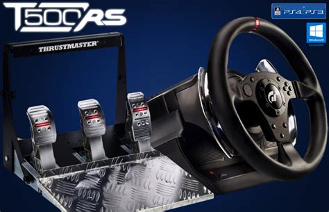 volante thrustmaster ps4 volante t500rs thrustmaster ps3 ps4 e pc cockpit