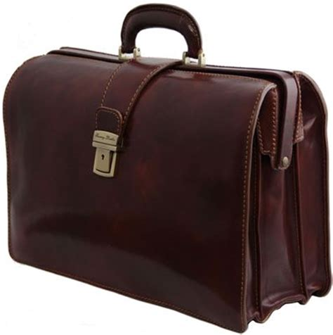 Handmade Briefcase - handmade traditional top frame briefcase lbs967