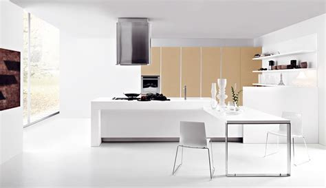 modern kitchen interior modern snow white kitchen interior stylehomes net