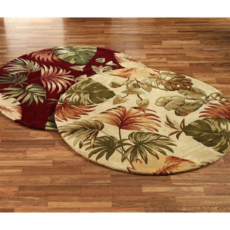 palm leaf rug palm leaf area rug home decor