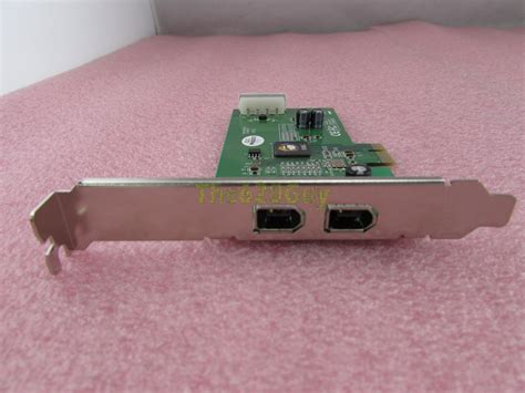 Siig Firewire 2 Port Pcie siig nn e20012 s2 2 port dp firewire ieee 1394a adapter