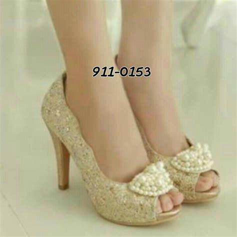 Sandal Wanita Mutiara Sdw 82 sandal high heels wanita model terbaru murah quot brukat mutiara quot