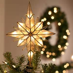 multi point bethlehem star tree topper at hayneedle