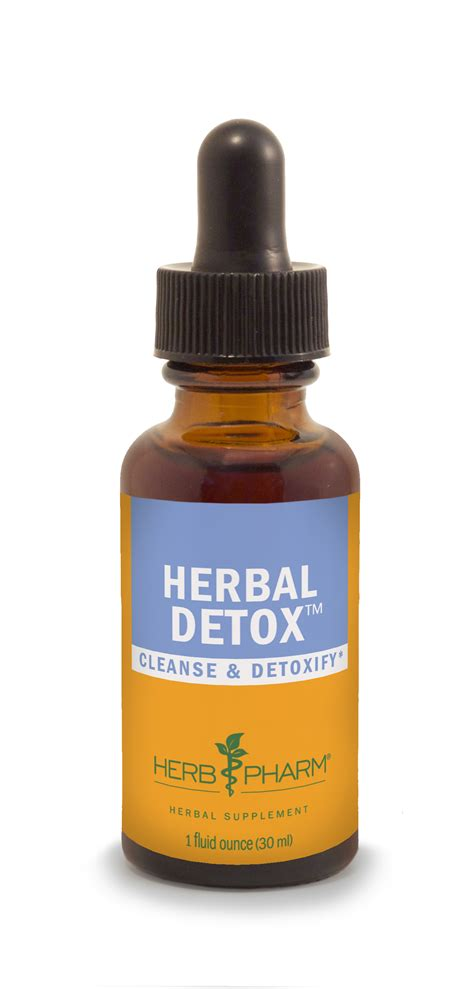 Herbs To Detox by Herbal Detox Herb Pharm