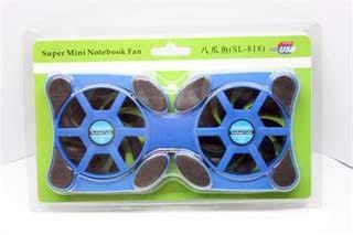 Kipas Laptop Termurah fan cooler pad lipatan 2 kipas uk sedang murah