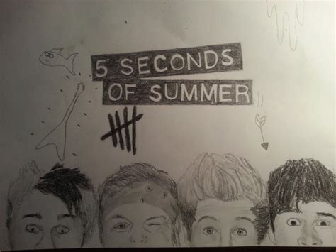 5 Second Sketches by 5 Seconds Of Summer By Tgabi On Deviantart