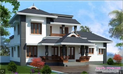slope roof low cost home design kerala and floor plans roof designs kerala style sloped pitched roofs terrace