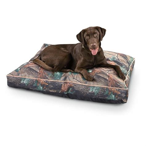 camo dog bed indoor outdoor 35x44 quot dog bed fall camo 199334