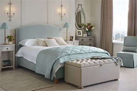 Duck Egg Blue Headboard by Classically Bedroom Design Ideas Pictures
