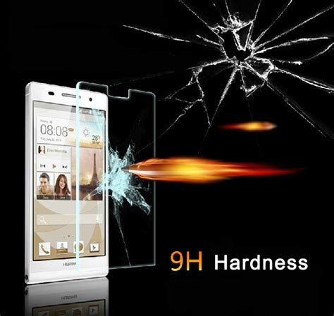 Tempered Glass Antigores Screen Guard Clear Slim Pro 12 9 Inch anti explosion tempered glass ultra slim clear screen protector for huawei ascend