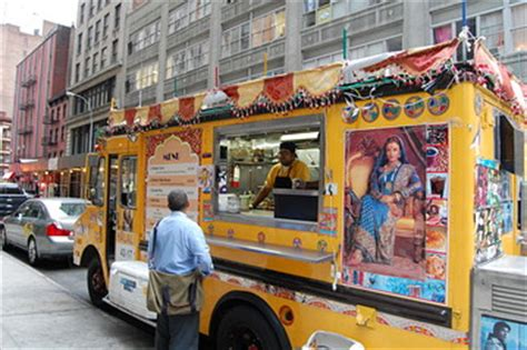 yorks desi food truck india real time wsj