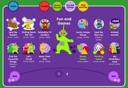 pics photos bbc teletubbies fun games toddlers