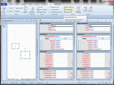 visio free for windows take of visio window arrangement with aquasnap