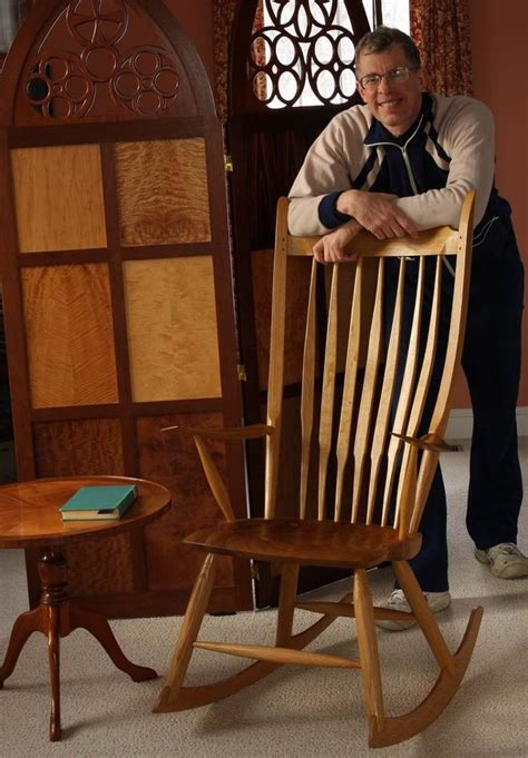how to build a rocking bench you can build a rocking chair finewoodworking