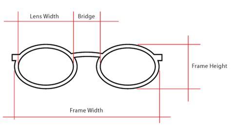 do glasses measurements