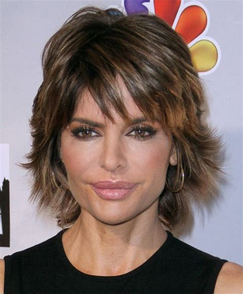 womans razor haircut lisa rinna haircut sexy layered razor cut for thick hair