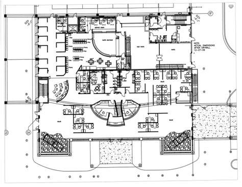 floor plan car dealership first floor furniture plan for fort myers toyota