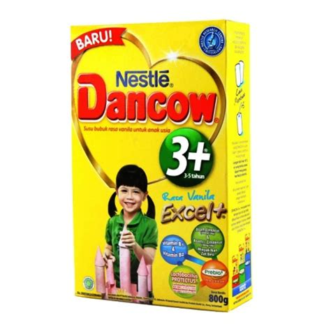 Dancow 1 Vanila 800gr Rajasusu jual dancow 3 excel vanilla 800gr toko