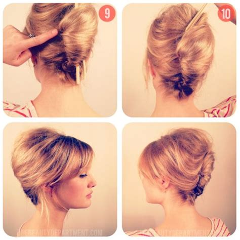 tutorial rambut french twist 1000 ideas about easy french twist on pinterest french