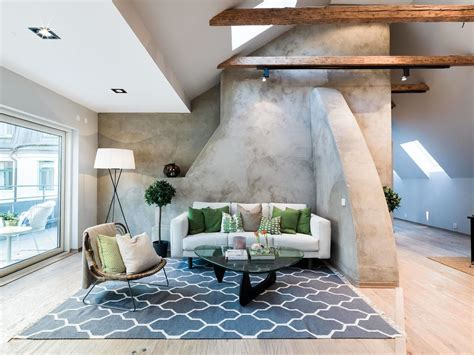 warm and comfortable swedish wooden house interior scandinavian modern attic apartment 1 idesignarch