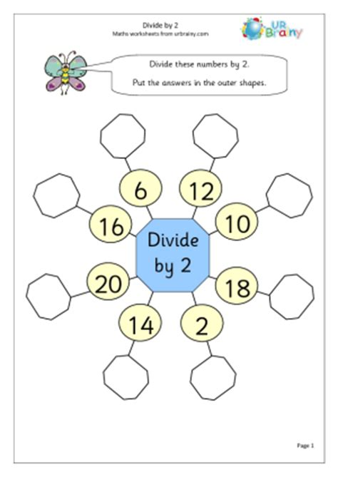 printable division games year 2 divide by 2 1 division maths worksheets for year 2 age