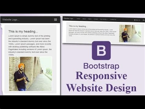 how to make responsive website using bootstrap pdf howsto co responsive website template design in bootstrap with easy