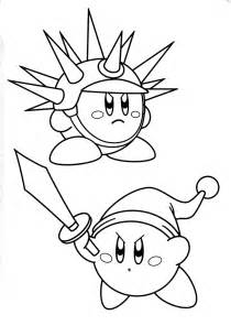 kirby coloring pages kirby fight coloring pages