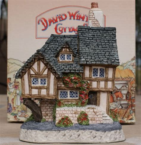 david winter cottage quot swan upping cottage quot