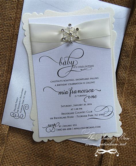 winter themed wedding shower invitations theme winter baby shower invitations wording winter baby shower invitations