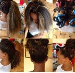 how to braid extensions into your own hair hair tagged as crochet braids