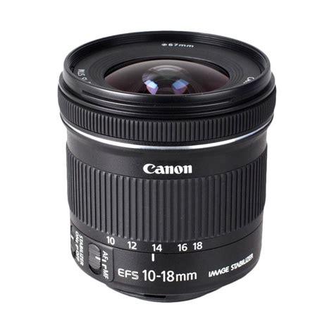 Lensa Canon Efs 10 18 jual canon ef s 10 18mm is stm lensa kamera harga kualitas terjamin blibli