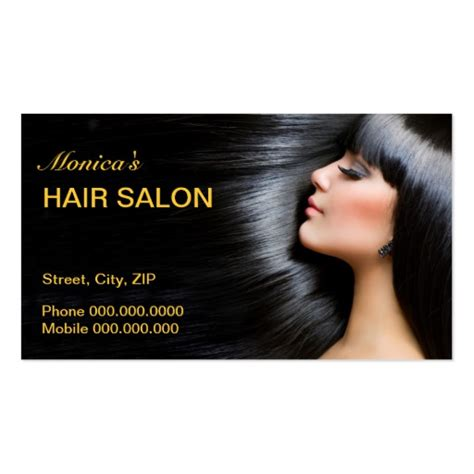 hair salon business card template hair salon business card business card zazzle