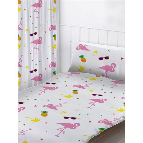 flamingo curtains flamingos curtains bedroom