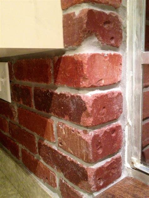 thin brick backsplash 1000 images about thin brick on transitional