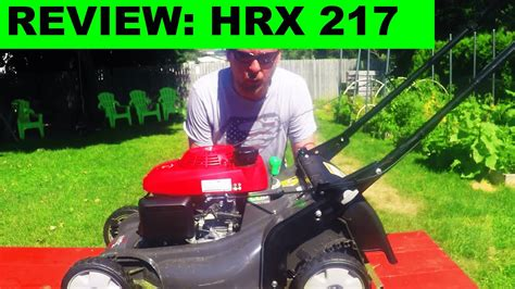 honest review honda hrx vka  propelled lawn mower youtube
