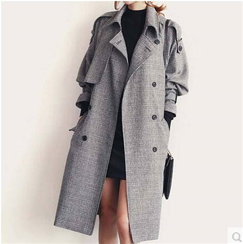 fashion brands message for fall shoppers buy less 2016 new fall fashion brand long trench coat women double