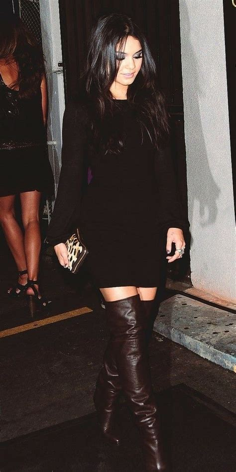 black with brown boots black dress with brown boots covet