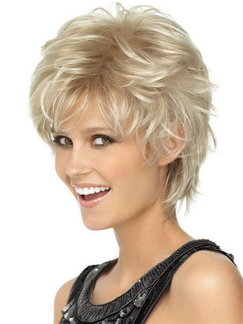 short layered spiky wigs for black women spiky cut wig hairdo 5 rebate short shag textured