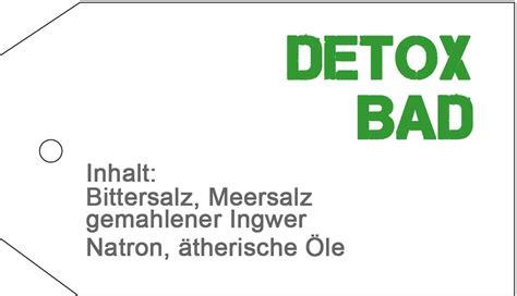 Detoxing Bad by Detox Bad Ein Selbstgemachter Badezusatz Als Geschenkidee