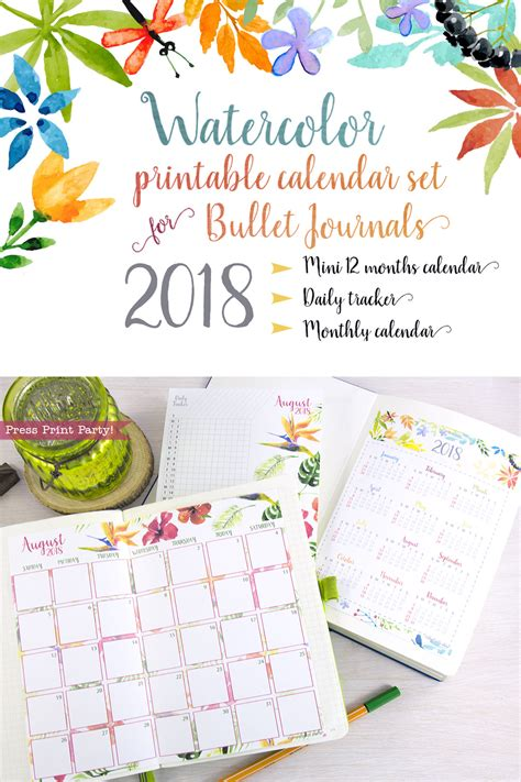 diary 2018 daily journal edition calendar january 2018 december 2018 lined one page per day best daily planer 6 x 9 inches books 2018 calendar printable set for bullet journals and planners