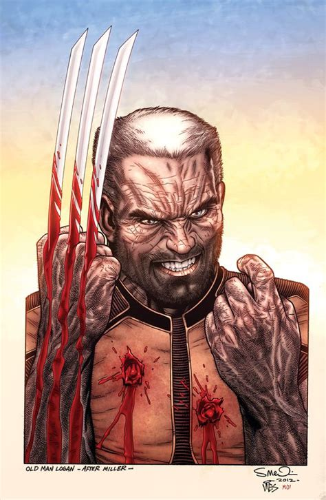 wolverine old man logan old man logan wolverine after miller by steve mcniven artist steve mcniven