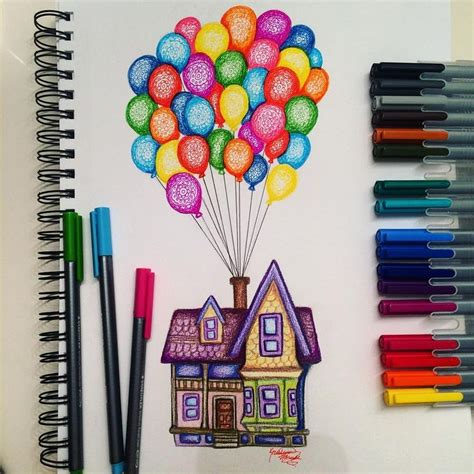 colorful things to draw the 25 best drawings ideas on
