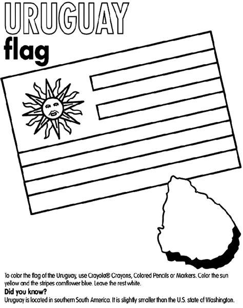 coloring pages for uruguay uruguay crayola au