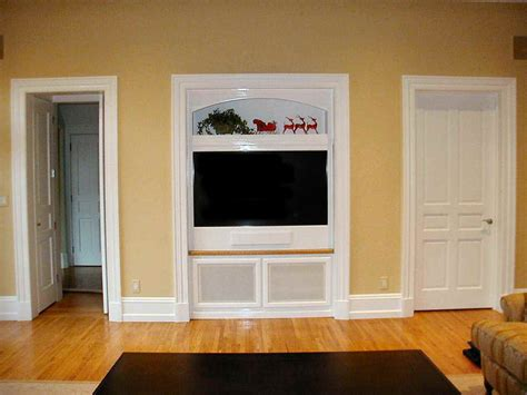 built in tv wall built in tv cabinet plans feel the home