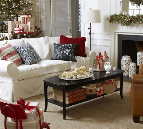 how to decorate like pottery barn christmas decor via pottery barn it s the most