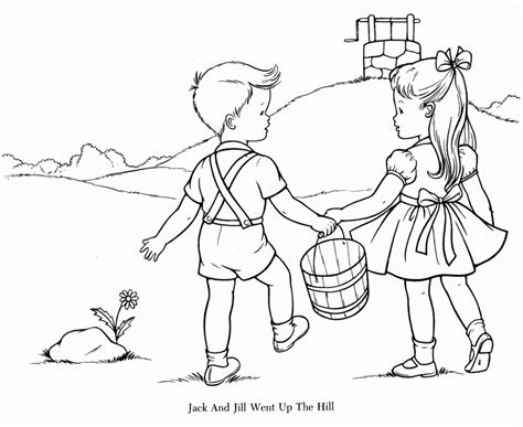 nursery rhymes coloring pages getcoloringpages com