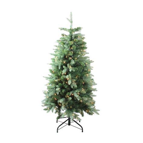 walmart in store pre lit slim tree on sale 4 7 pre lit slim fresh cut carolina frasier fir artificial tree clear lights